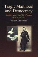 Download Tragic Manhood and Democracy Book