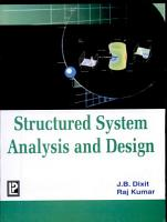 Structured System Analysis and Design PDF