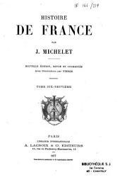 Histoire de France: Volume8