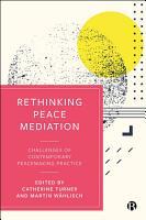 Rethinking Peace Mediation PDF
