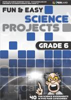 Fun   Easy Science Projects  Grade 6 PDF