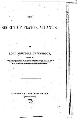 The Secret of Plato s Atlantis PDF