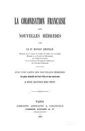 La colonisation française aux Nouvelles Hébrides