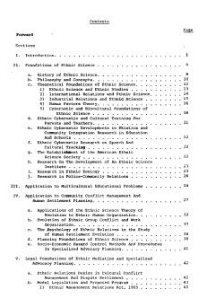 Ethnic Science PDF