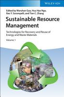 Sustainable Resource Management PDF