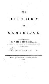 The History of Cambridge