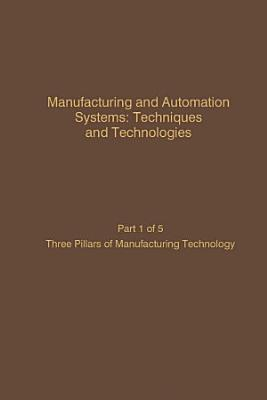 Manufacturing and Automation Systems  Techniques and Technologies  Part 5 of 5 PDF