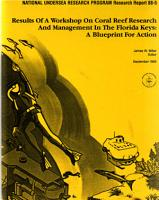 Results of a Workshop on Coral Reef Research and Management in the Florida Keys PDF