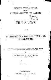 The Slums of Baltimore, Chicago, New York, and Philadelphia