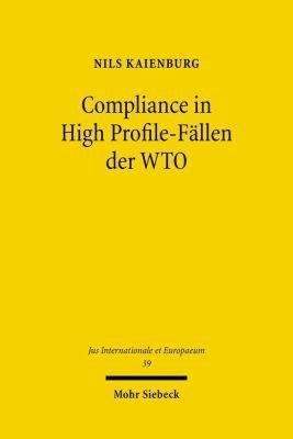 Compliance in High Profile F  llen der WTO PDF