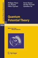 Quantum Potential Theory PDF