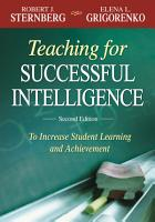 Teaching for Successful Intelligence PDF