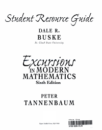 Student Resource Guide