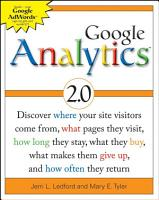 Google Analytics 2 0 PDF