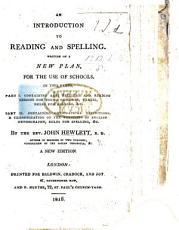 An Introduction to Reading and Spelling     A new edition PDF