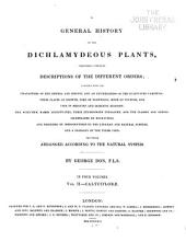 A General History of the Dichlamydeous Plants: Volume 2