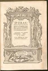 D. Erasmi Roterodami Paraphrasis in Euangelium secundum Ioannem: ad illustrissimum principem Ferdinandvm