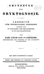 Naturgeschichte des mineralreichs: abth. Grundzüge der oryktognosie