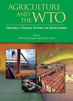 Agriculture and the WTO PDF