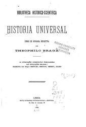 Historia universal: As civilisações cosmopolitas propagadoras das civilisações isolades, hegemonia das raças semiticas : Phenicios, Hebreus, Arabes