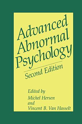 Advanced Abnormal Psychology