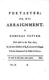 Poetaster; Sejanus. Volpone; Epicoene