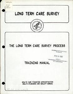 Long Term Care Survey Book