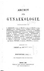 Arch gynakol: Band 9
