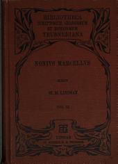 Nonii Marcelli De compendiosa doctrina libros XX: Volume 3