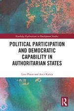 Political Participation and Democratic Capability in Authoritarian States