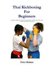 Thai Kickboxing for Beginners PDF