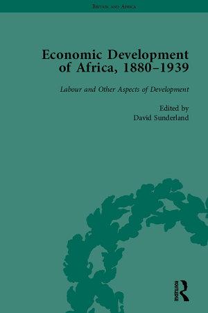 Economic Development of Africa  1880   1939