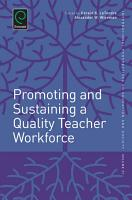 Promoting and Sustaining a Quality Teacher Workforce PDF