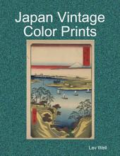 Japan Vintage Color Prints