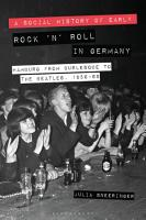 A Social History of Early Rock    n    Roll in Germany PDF