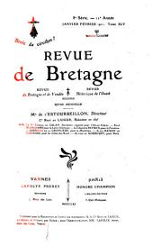 Revue de Bretagne, de Vendée & d'Anjou: Volumes45à46
