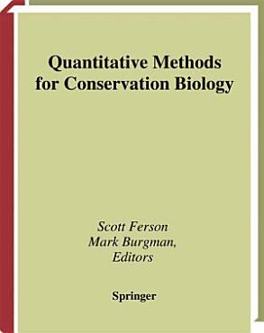 Quantitative Methods for Conservation Biology PDF