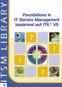 Foundations in IT Service Management basierend auf ITIL   PDF