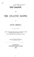 The Amazon  and the Atlantic Slopes of South America PDF