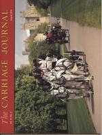 The Carriage Journal: Vol. 57. No. 4 August 2019