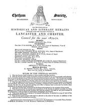 Chetham Miscellanies, [vol. 4] ...