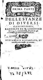 Stanze di diversi illustri poeti: Volume 1