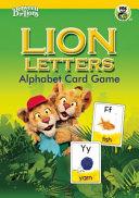 Lion Letters  Alphabet Card Game PDF
