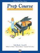 Alfred's Basic Piano Prep Course Solo Book, Bk E