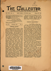 The Collector: A Monthly Magazine for Autograph and Historical Collectors, Volume 16, Issue 12