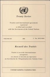 Treaty Series 2211 I:39272-39293