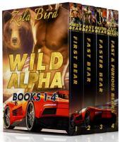 Wild Alpha: Books 1-4: (Paranormal Shifter BBW Romance)