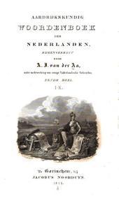Aardrijkskundig woordenboek der Nederlanden: Deel 6