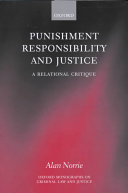Punishment, Responsibility, and Justice