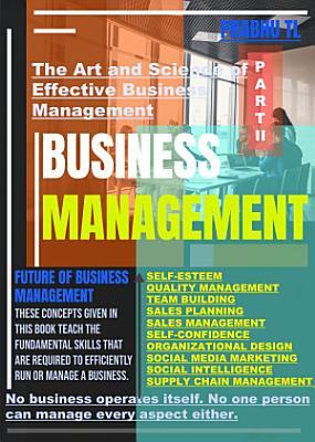 BUSINESS MANAGEMENT   PART  II